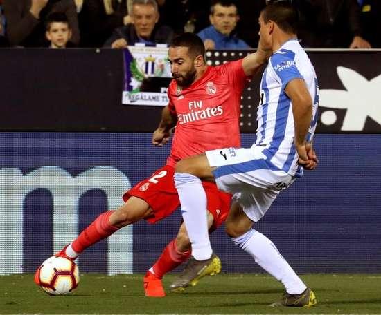 O Real empatou frente ao Leganés num encontro com poucas emoções. EFE