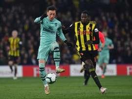Ozil veut rester à Arsenal. EFE