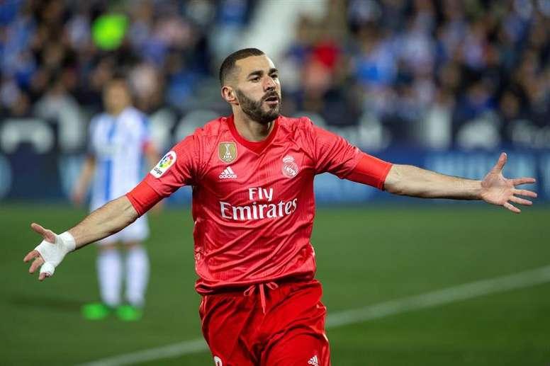 Karim Benzema écarte un retour en Ligue 1. EFE