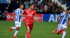 Bale no pasó de los 10 minutos sobre el campo ante el Leganés. EFE