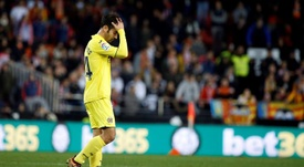Trigueros podría incluso jugar ante el Valencia. EFE