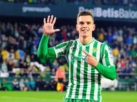 Giovani Lo Celso could be on his way out of Betis this summer. EFE