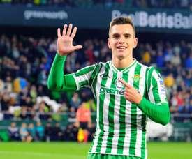 L'Atlético a fait une offre pour Lo Celso. EFE/Archive