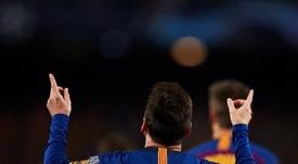 Goleadores de la UEFA Champions League 2018-19. AFP