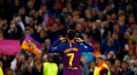 Coutinho reconnaît ses faiblesse. EFE