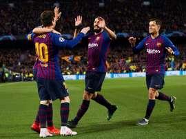 Le Barça recevra Liverpool le 1er mai. EFE