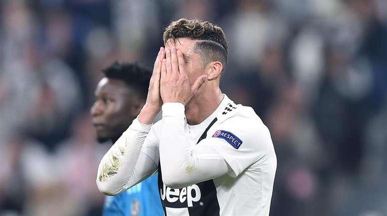 Cristiano no cumpliría su contrato con la Juventus. EFE