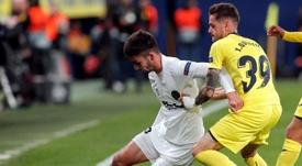 Ferrán Torres hizo el cuarto en la goleada al Lille. EFE