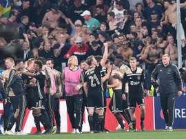 Tottenham et l'Ajax se retrouveront en demi-finales. EFE