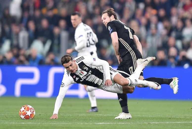 Prejuízo dentro e fora da campo para a Juventus. EFE