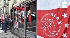 Detenidos 54 radicales del Ajax que portaban machetes y cuchillos. EFE