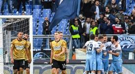 La Lazio da salida a cuatro jugadores de una tacada. EFE