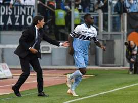 Caicedo will meet with Lazio to discuss extending his contract. EFE