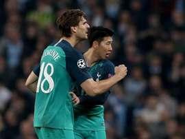 Tottenham quer voltar a contar com Llorente. EFE
