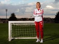 Ángela Sosa renueva con el Atlético hasta 2022. EFE/Archivo
