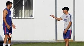 Simeone se mostró comprensivo con Diego Costa. EFE/Archivo