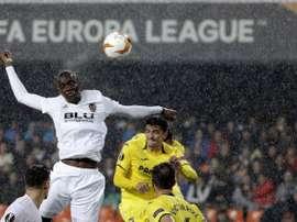 El Valencia no dio opción a la remontada. EFE