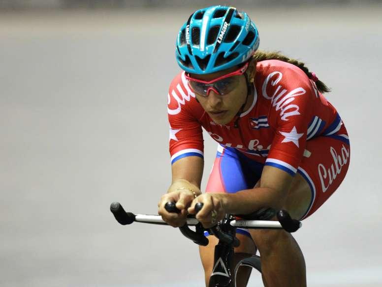La ciclista cubana Arlenis Sierra. EFE/Archivo