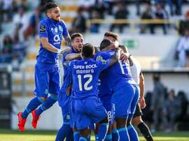 FC Porto sobe ao primeiro lugar depois da vitória frente ao Santa Clara. Twitter@FCPorto
