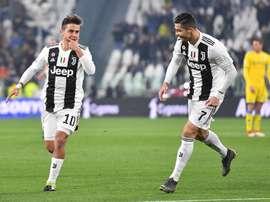 A Juve pode conquistar o oitavo Scudetto consecutivo. EFE