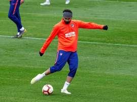Diego Costa volta a campo. EFE