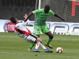 Carvalho sigue sin entrenarse. EFE/Archivo