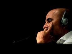 Peres negó una posible salida de Jorge Sampaoli. EFE
