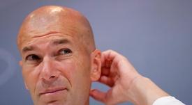 Zidane afronta con energía el final de curso. EFE