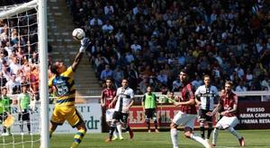 El Milan se adelantó, pero el Parma empató. EFE
