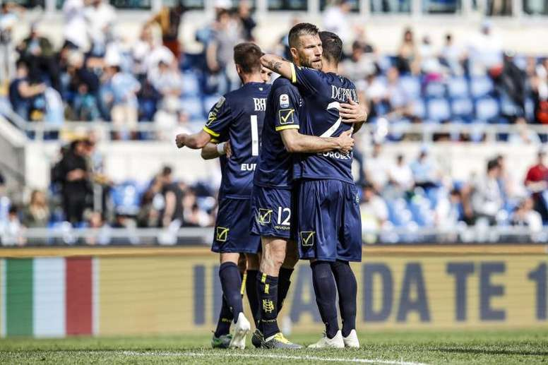 La Lazio cayó inexplicablemente con el Chievo. EFE