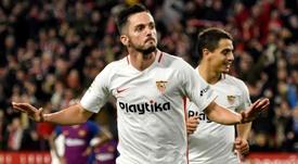 Le PSG va payer 20 millions pour Sarabia. EFE