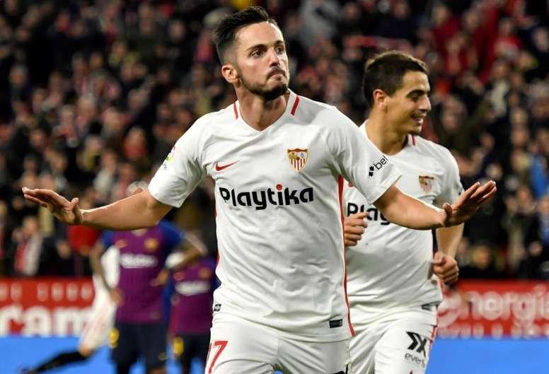Sarabia posible fichaje del Real Madrid. EFE/Archivo
