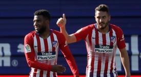 Koke y Felipe, mentalizados para el inicio de Liga. EFE
