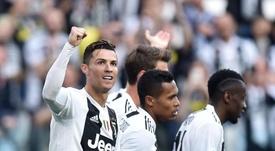 Cristiano a annoncé qu'il restait à la Juventus. EFE