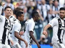 La Juventus y un récord difícil de igualar. EFE