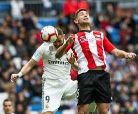 Yeray prolonge l'aventure à Bilbao. EFE