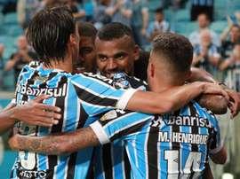 Gremio apura sus opciones en la Libertadores. EFE/Archivo