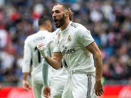 Benzema is not fussed whether another striker comes or not. EFE