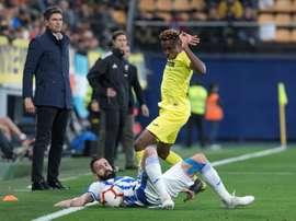 Chukwueze é insubstituível ao Villarreal. EFE