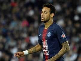 Neymar a répondu sincèrement. EFE/EPA