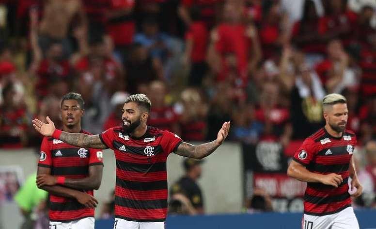 Flamengo ganó en el campo de Corinthians. EFE