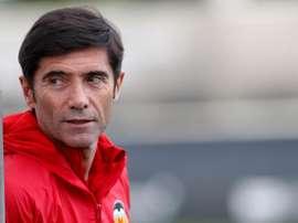 Marcelino García Toral habló de la dificultad de hacerse con la Copa. EFE