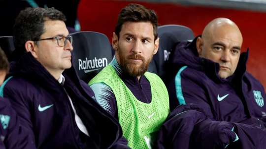 Leo Messi spoke about El Clasico. EFE