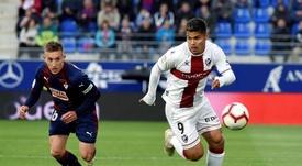 El Huesca ganó 2-0. EFE