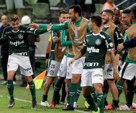 A Palmeiras le resta un punto para ser equipo de octavos de final. EFE