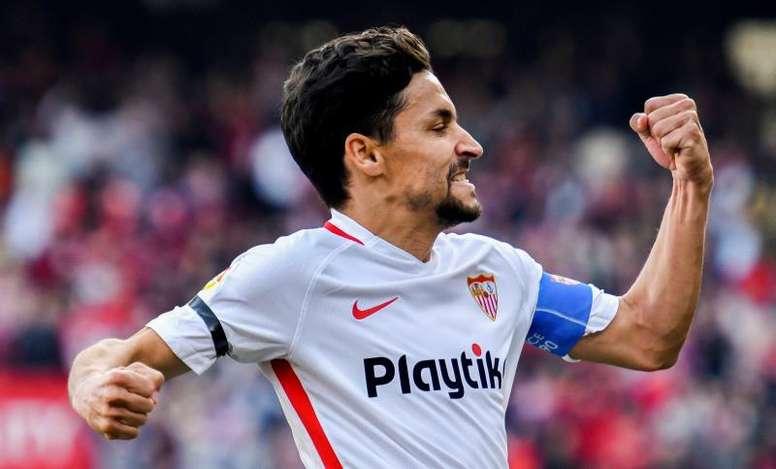 Jesús Navas espère faire une bonne saison. EFE