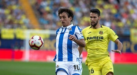 Aldonso Pedraza (r) could be on his way to the Bundesliga. EFE
