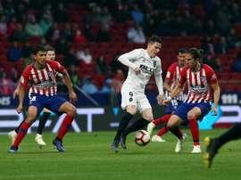 Assim irão jogar Atlético de Madrid - Valência em partida válida pela nona rodada da Liga. EFE