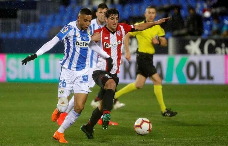 El Athletic ganó por la mínima con un gol en propia de En-Nesyri. EFE