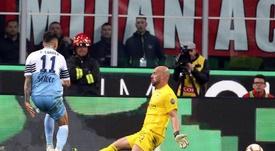 La Lazio habría rechazado una oferta del Atlético por Correa. EFE